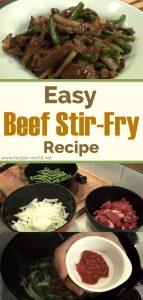 Easy Stir Fry (Beef Stir-Fry) Recipe