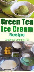 Green Tea Ice Cream Recipe - Japanese Cooking 101