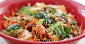 Healthy Indian Weight Loss Salad Recipe (Vegetarian)