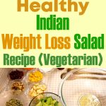 Healthy Indian Weightloss Salad Recipe (Vegetarian)