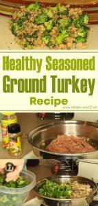Healthy Seasoned Ground Turkey Recipe