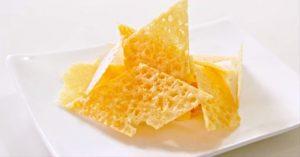 How To Make Parmesan Chips - Crisps