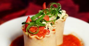 Lasagna Rolls - The Vegan Zombie