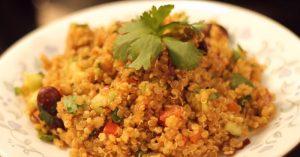 Quinoa Recipe -Spanish Style