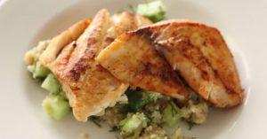 Tilapia & Quinoa Fish Recipe - Sarah Carey