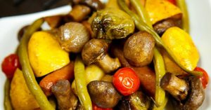 Roasted Veggies (Healthy) Recipe