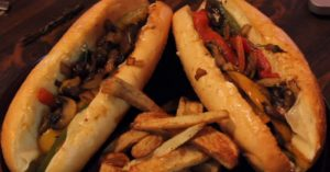 Vegetarian Philly Cheese Steak Recipe