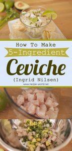 5-Ingredient Ceviche - Ingrid Nilsen