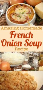 Amazing Homemade French Onion Soup