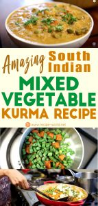 Amazing South Indian Mixed Vegetable Kurma Recipe