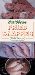 Caribbean Fried Snapper (Fish)