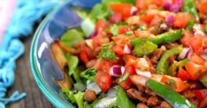 Chipotle Veggie Taco Salad Bowl
