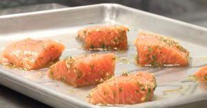 Garlic Herb Roasted Salmon With Chef Jim