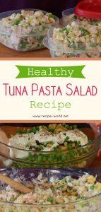 Healthy Tuna Pasta Salad Recipe