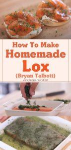 Homemade Lox - Byron Talbott