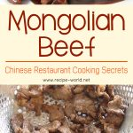 Mongolian Beef – Chinese Restaurant Cooking Secrets