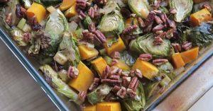 Roasted Fall Vegetable Medley (Vegan)