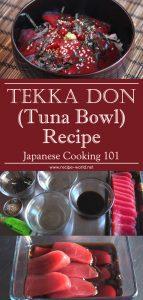 Tekka Don (Tuna Bowl) Recipe - Japanese Cooking 101