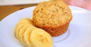 Vegan Banana Muffin For 1