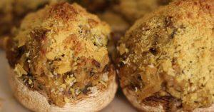 Vegan Italian Stuffed Mushrooms Recipe