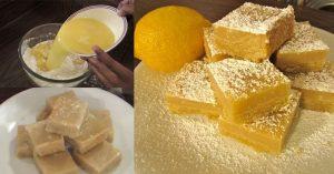 Vegan Lemon Bars Recipe