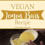 Vegan Lemon Bars Recipe