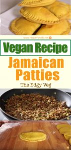 Vegan Recipe - Jamaican Patties