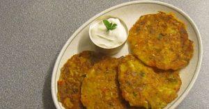 Vegetable Oats Pancake (Eggless Vegetable Breakfast Pancake Recipe)