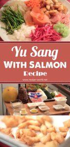 Yu Sang With Salmon Recipe
