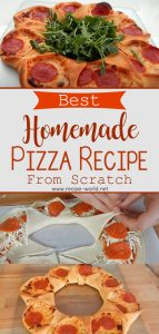 Best Homemade Pizza Recipe From Scratch