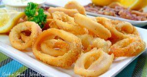 Fried Calamari With Lemon Mayonnaise