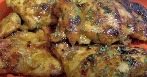 Honey Curry Chicken Thighs Recipe - Easy Weekday Dinner Idea