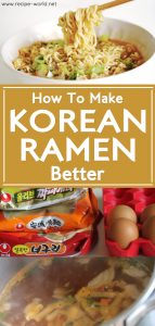 How To Make Korean Ramen Better