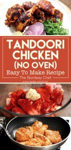 Tandoori Chicken, No Oven – Easy To Make Recipe - The Bombay Chef