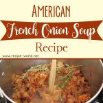 American French Onion Soup Recipe