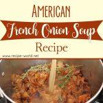 American French Onion Soup Recipe