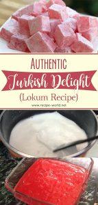 Authentic Turkish Delight Recipe - Lokum Recipe