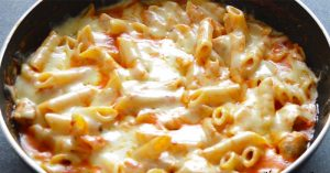 Chicken Cheese Pasta - One Pot Chicken Pasta