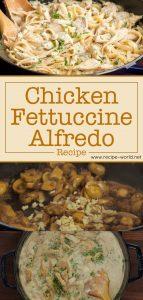 Chicken Fettuccine Alfredo Recipe - Easy Dinner