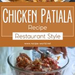 Chicken Patiala Recipe (Restaurant Style)