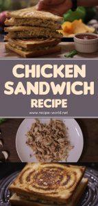 Chicken Sandwich Recipe - Ramadan Recipes
