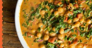 Chickpea Curry - 5 Minute Dinner