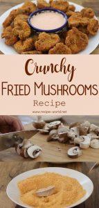 Crunchy Fried Mushrooms Recipe - Breaded Mushrooms