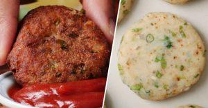Easy Crispy Aloo Tikki Recipe