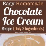 Easy Homemade Chocolate Ice Cream Recipe (Only 3-Ingredients)