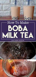 How To Make Boba Milk Tea