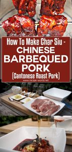 How To Make Char Siu - Chinese Barbecued Pork Recipe - Cantonese Roast Pork