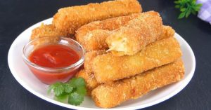 How To Make Fried Eggplant sticks By Tiffin Box