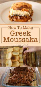 How To Make Greek Moussaka