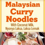 Malaysian Curry Noodles With Coconut Milk / Nyonya Laksa / Laksa Lemak